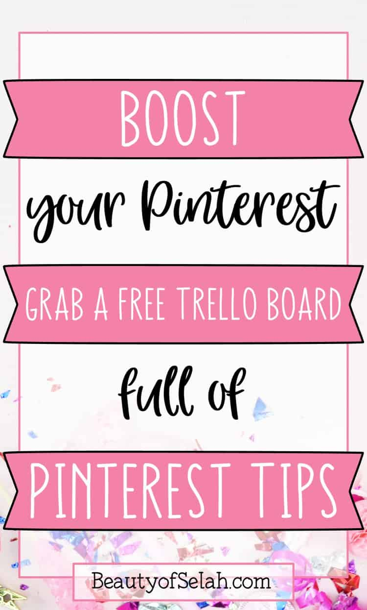 Boost your Pinterest
