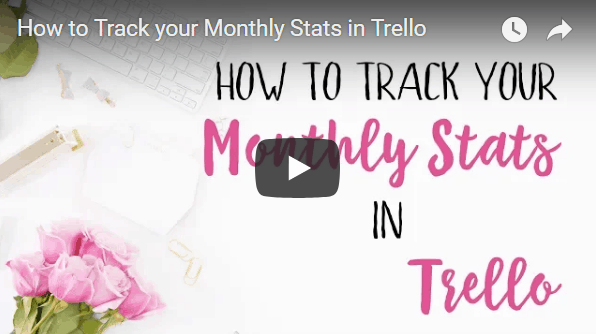 How to Track your Monthly Stats in Trello