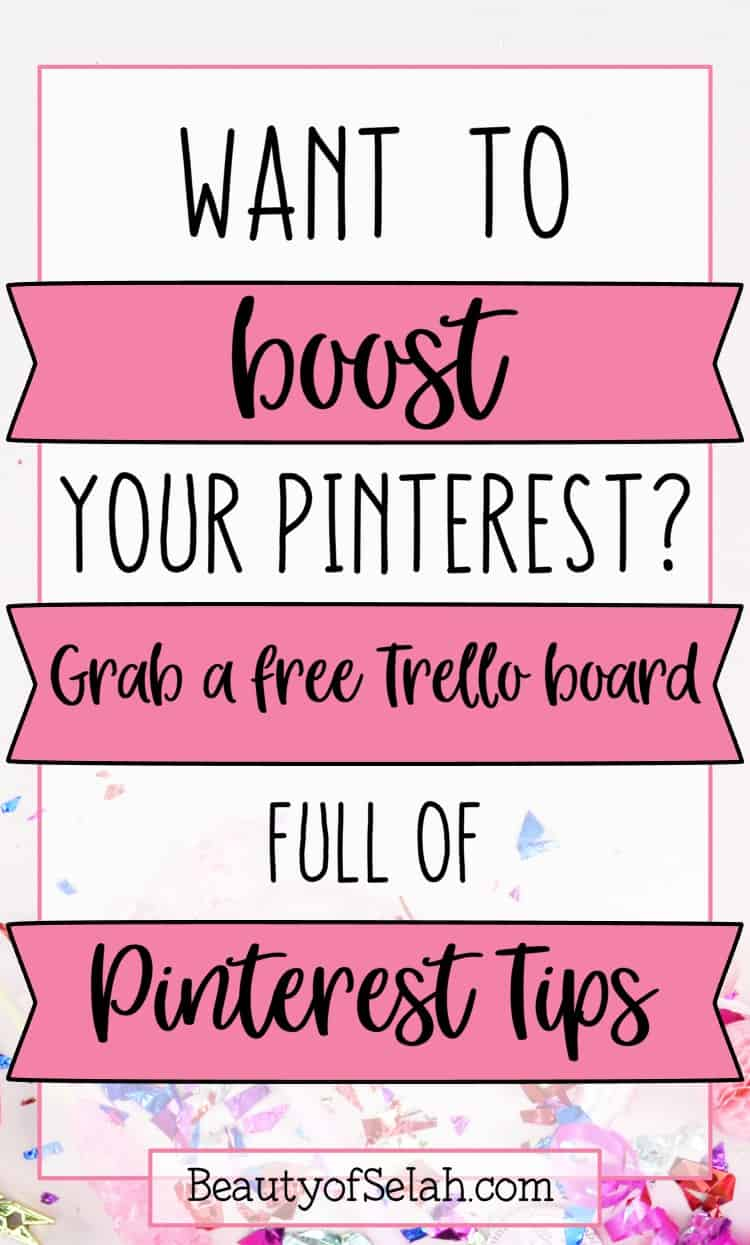 Want to Boost your Pinterest