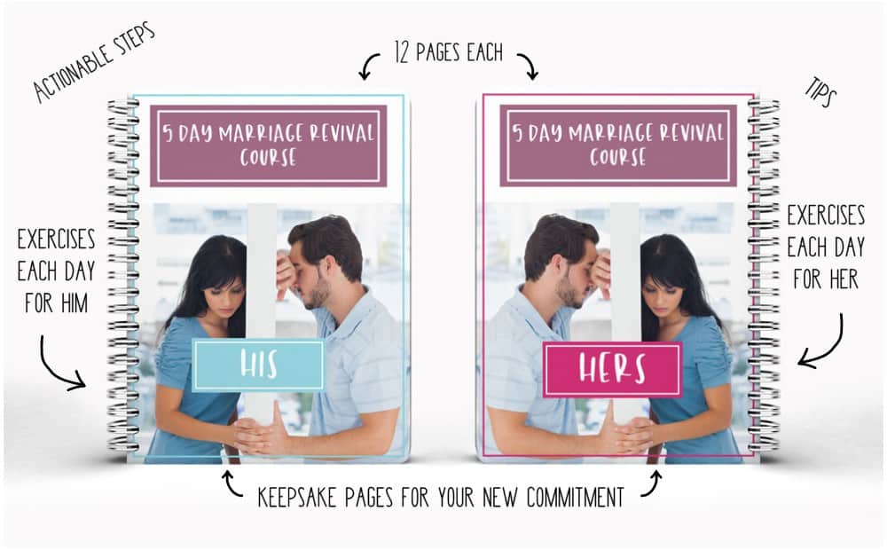 5 Day Marriage Revival Course Digital Workbooks tell all