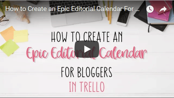 how to create an epic editortial calendar